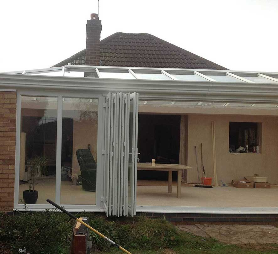 open white conservatory