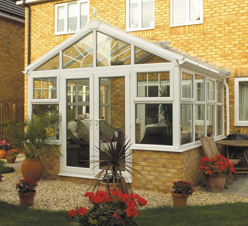 white gable conservatory p11